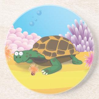 Sköldpadda Underlägg Sandsten