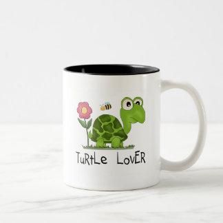 SköldpaddaälskareTshirts och gåvor Två-Tonad Mugg