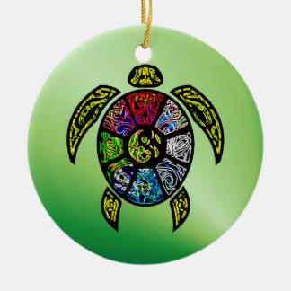 Sköldpaddaba-Gua Julgransprydnad Keramik