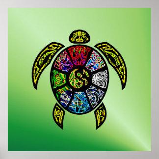 Sköldpaddaba-Gua Poster
