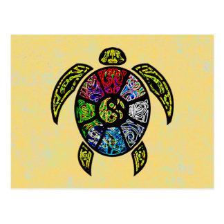Sköldpaddaba-Gua Vykort