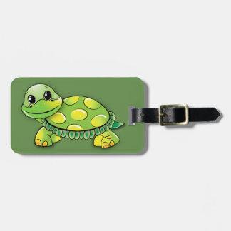 Sköldpaddabagagemärkre Bagagebricka