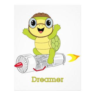 SköldpaddaDreamer™ reklamblad Reklamblad 21,5 X 30 Cm