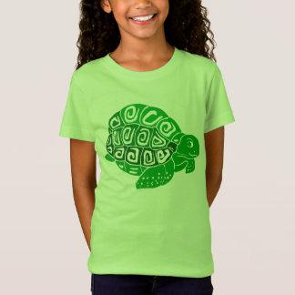 Sköldpaddaflicka Jersey för bra för sportkläder T Shirt