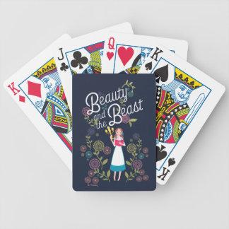 Skönhet för Belle   och beasten Spelkort