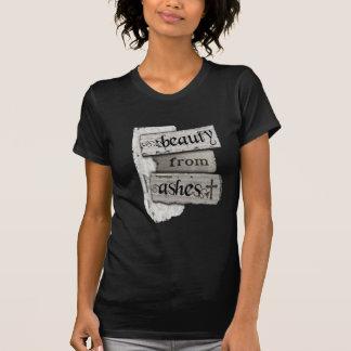 Skönhet från den kristna journalen för aska t-shirts