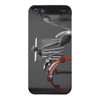 Skönhet i slagverk - svart & vit iPhone 5 hud