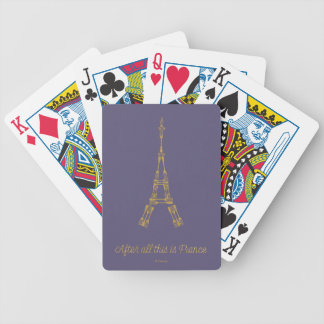 Skönhet och beasten   efter allt detta är spelkort