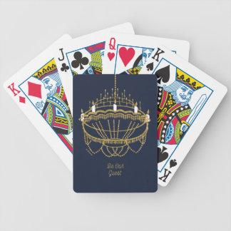 Skönhet och ljuskronan för beast   - var vår gäst spelkort
