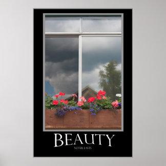 Skönhet varar aldrig affisch