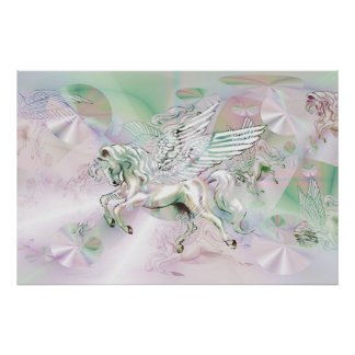 Skönheten av Pegasus Poster
