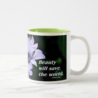Skönhetkaffemugg Två-Tonad Mugg