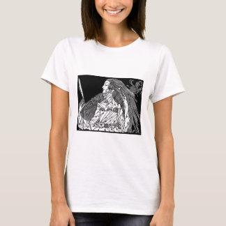 Skönhetskjortaillustration. offentlig områdeskonst t-shirts