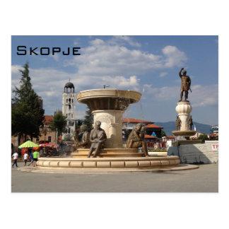 Skopje Vykort