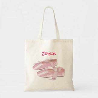 Skor känd rosa balett för anpassningsbar toto häng kasse