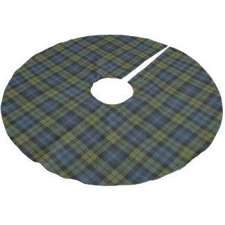 Skotsk Campbell Tartanpläd Julgransmatta Borstad Polyester