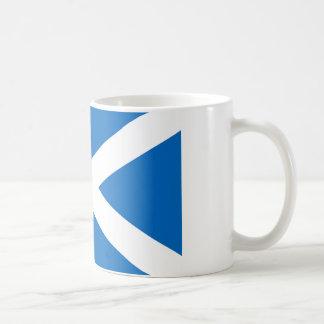Skotsk flagga av Skottland St Andrew arg Sal Kaffemugg