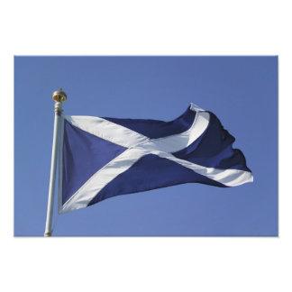 Skotsk flagga konstfoto