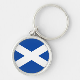 Skotsk flagga - Saltire - nyckelring