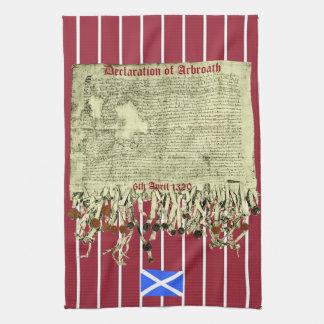 Skotsk handduk för självständighetArbroath Kökshandduk