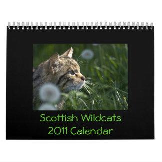 Skotsk kalender för vildkatter 2011