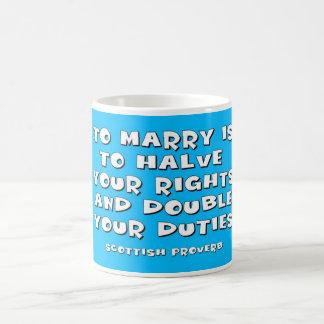 Skotsk Proverb Vit Mugg