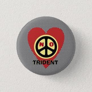 Skotsk självständighet ingen treudd mini knapp rund 3.2 cm