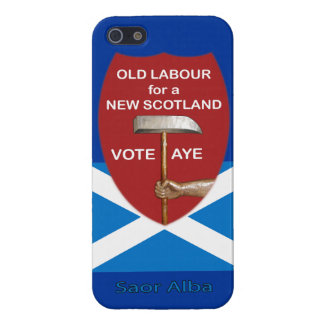 Skotsk självständighetiphone case för gammalt arbe iPhone 5 hud