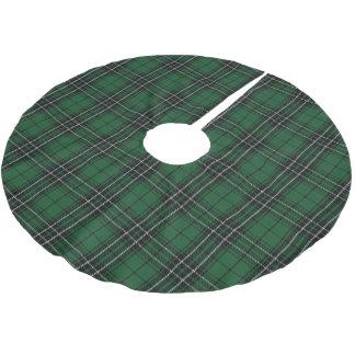 Skotsk Tartan för jakt för svart för klanMacLean Julgransmatta Borstad Polyester