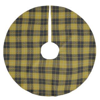 Skotsk Tartan för klänning för svart för Julgransmatta Borstad Polyester