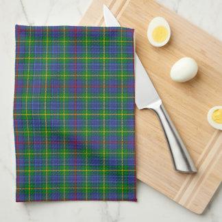 Skotsk Tartanpläd för borggård Kökshandduk