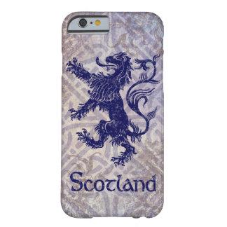 Skotsk våldsam lejon marinblå Celtic fnurra Barely There iPhone 6 Skal