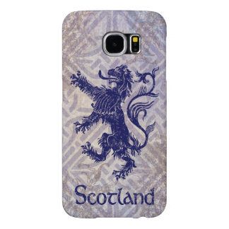 Skotsk våldsam lejon marinblå Celtic fnurra Samsung Galaxy S6 Fodral