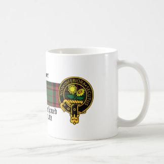 Skotsk vapensköld- och Tartanmugg för Harper Kaffemugg