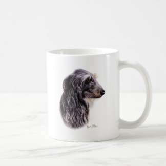 Skotska Deerhound Vit Mugg