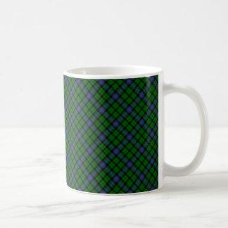 Skotskt designat tryck för MacIntyre klanTartan Kaffemugg
