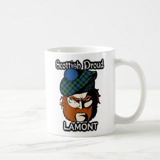 Skotskt skott för klanLamont Tartan Kaffemugg