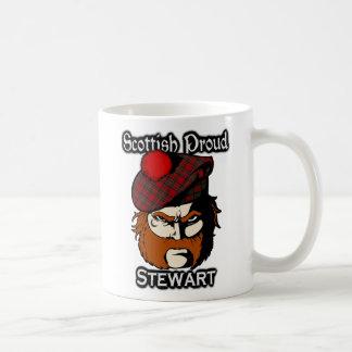 Skotskt skott för klanStewart Tartan Kaffemugg