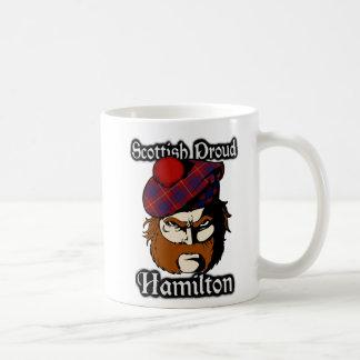 Skott för klanHamilton Tartan Kaffemugg
