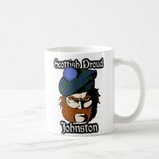 Skott för klanJohnstone Johnston Tartan Kaffemugg