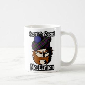 Skott för klanMacLennan Tartan Kaffemugg