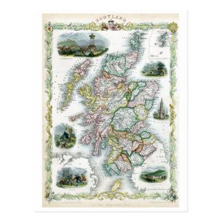 Skottland 1851 vykort