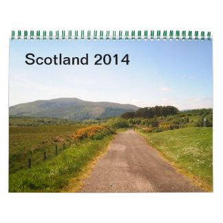 Skottland 2014 kalender