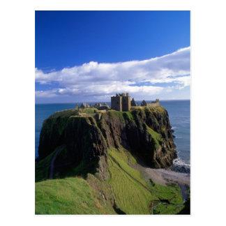Skottland Aberdeen. Dunnotar Castle. Vykort