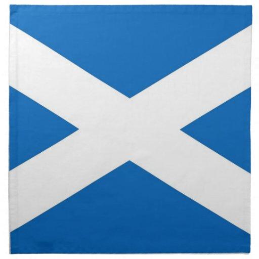 Skottland flagga på den MoJo servetten Servetter