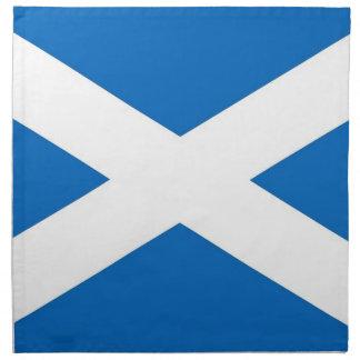 Skottland flagga på den MoJo servetten Tygservett