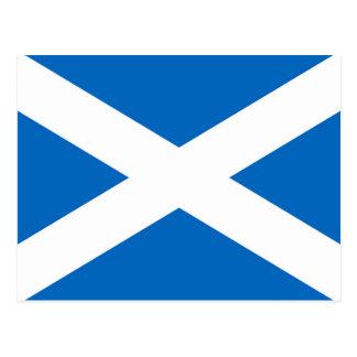 Skottland flagga vykort