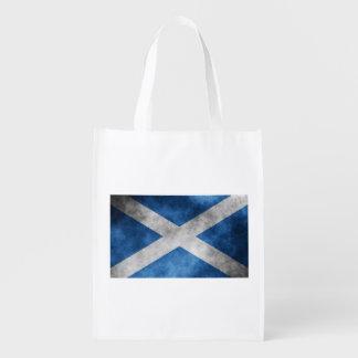 Skottland grungeSts Andrew kor Återanvändbar Påse