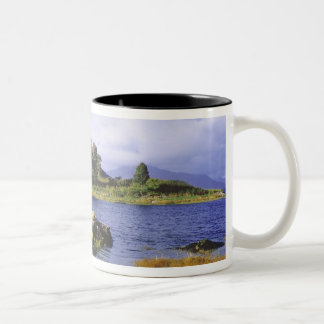 Skottland högland, Wester Ross, Eilean Donan 2 Två-Tonad Mugg