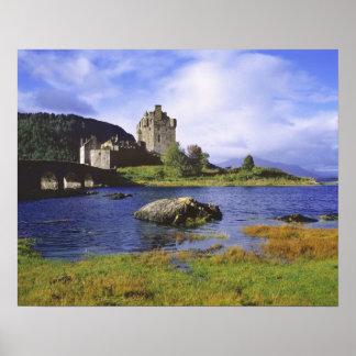 Skottland högland, Wester Ross, Eilean Donan 3 Poster